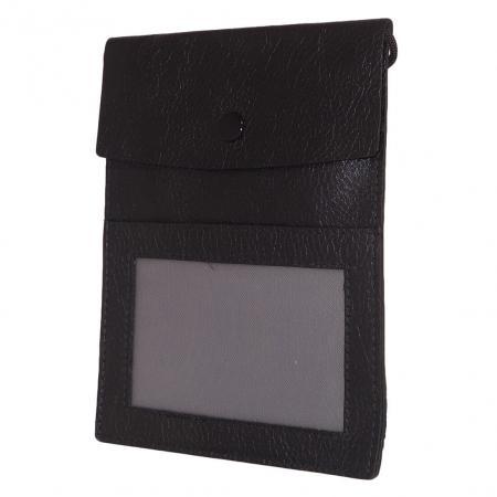 Leather Design Halstas / Schoudertas Zwart-0