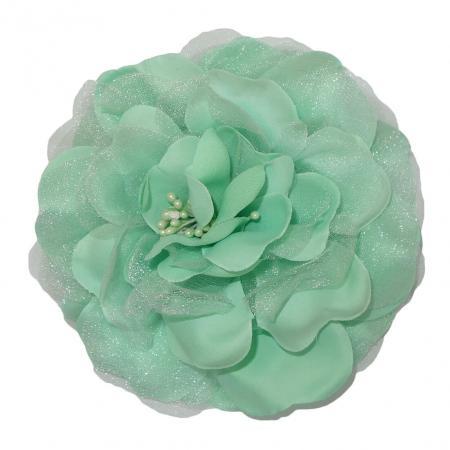 Haarbloem / Corsage Mint Groen-0