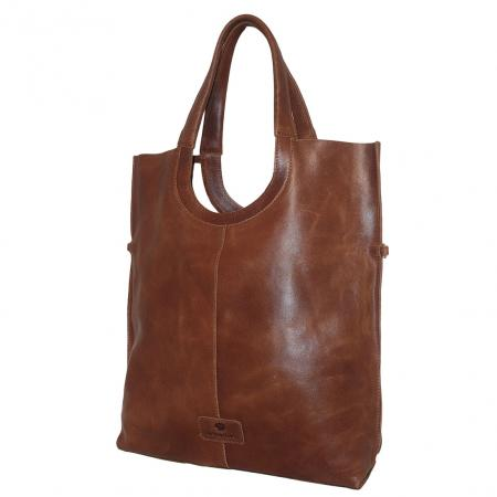 MicMacbags Shopper / Schoudertas Brown-0
