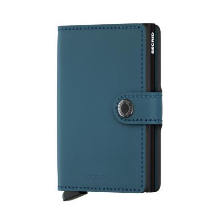 Secrid Mini Wallet Portemonnee Matte Petrol-15277