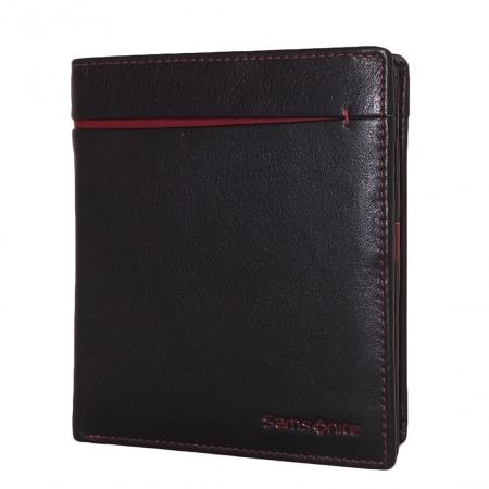 Samsonite Rfid Billfold S Pecial Noir / Rouge Qy5oH