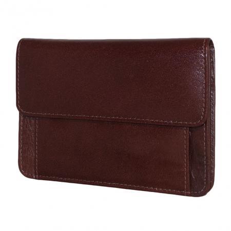 Leather Design Mobiel Tasje Bruin-0