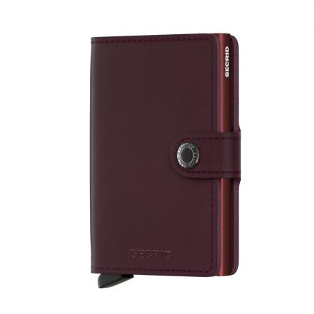 Secrid Mini Wallet Portemonnee Original Bordeaux-0