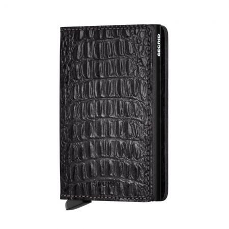 Secrid Slim Wallet Portemonnee Nile Black-19906