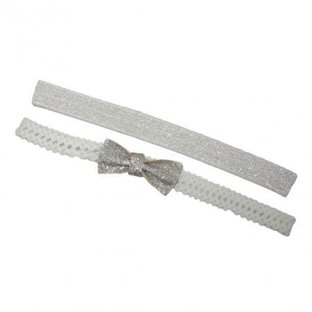 Kinder Haarband Set Wit-0