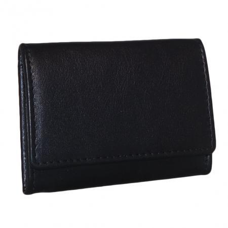 Leather Design Munten Schutbak Zwart-0