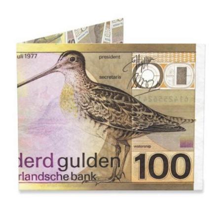 Mighty Wallet Billfold Portemonnee 100 Gulden Snip-0