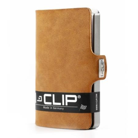 I-Clip Wallet Kaarthouder Soft Touch Caramel-21230