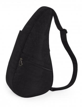 Healthy Back Bag Textured Nylon M Zwart-21412