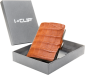 I-Clip Wallet Kaarthouder Kaaiman Leer Cognac-21842