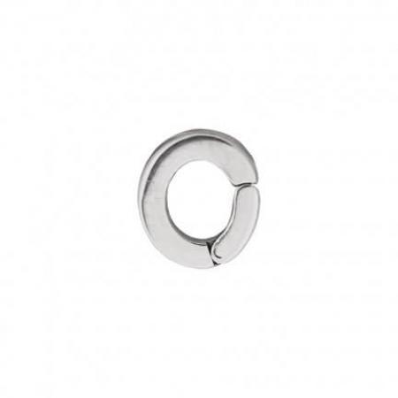iXXXi Charm Oogje Loop Zilver-0