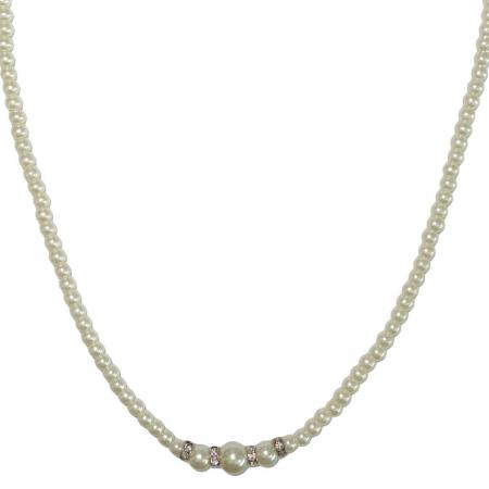 Cultive Parelketting Wit-22062