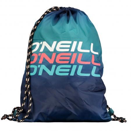 O'Neill Gym Tas Blauw met Groen-0