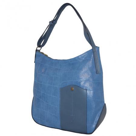Ferchi Handtas / Shopper Jeans Blauw-0