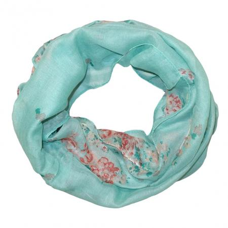 colsjaal_turquoise_bloemen_18053165