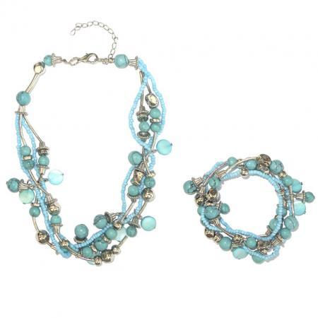 ketting_armband_set_turquoise